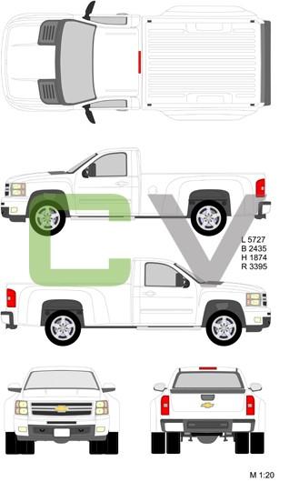Chevrolet Silverado HD Normalcab Longbox Double (2012)