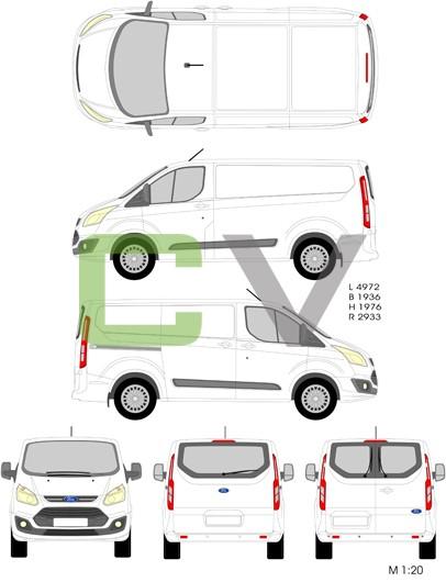 Ford Transit Custom (2012) (Kurz)