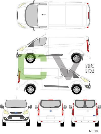 Ford Transit Custom (2012) (Lang)
