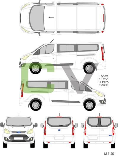 Ford Transit Custom Tourneo (2012) (Lang)