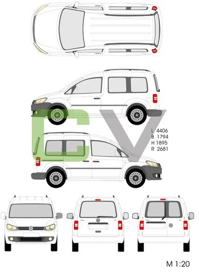VW Caddy Kombi (2013)