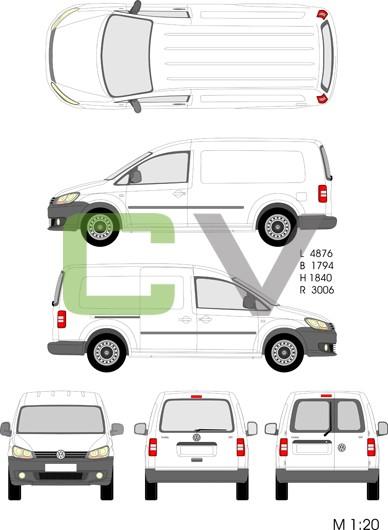 VW Caddy Maxi (2013)