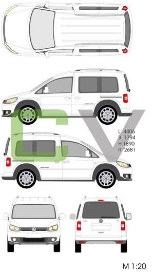 VW Crosscaddy (2013)