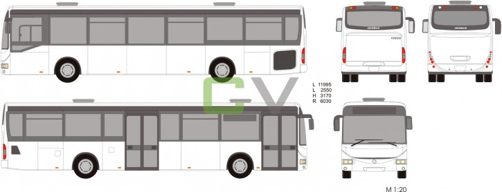 Irisbus Crossway LE 12 (Big Door)