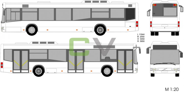 Volvo 7000 B7L