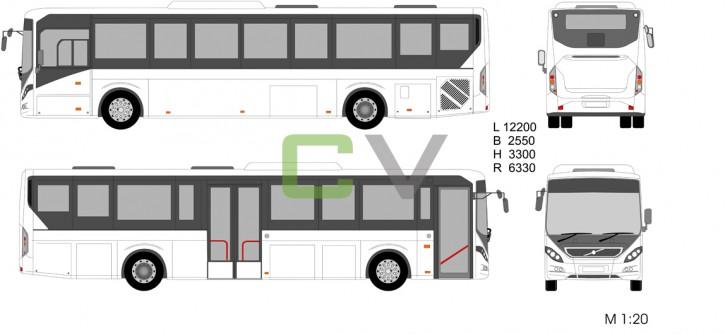 Volvo 8900 12200 Version1