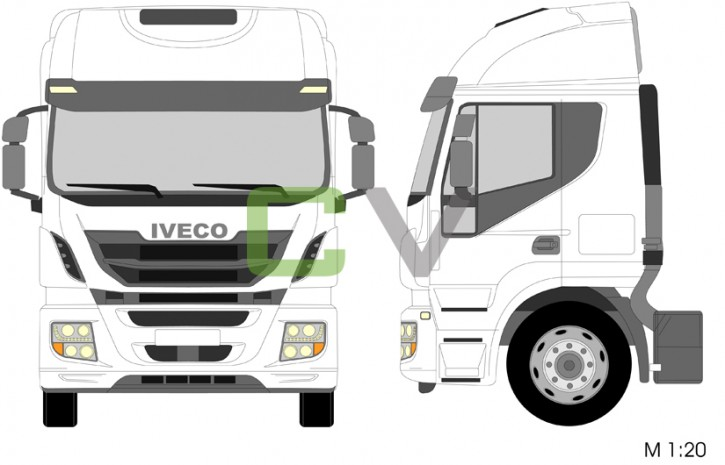 Iveco Stralis Hi-Road Highcab