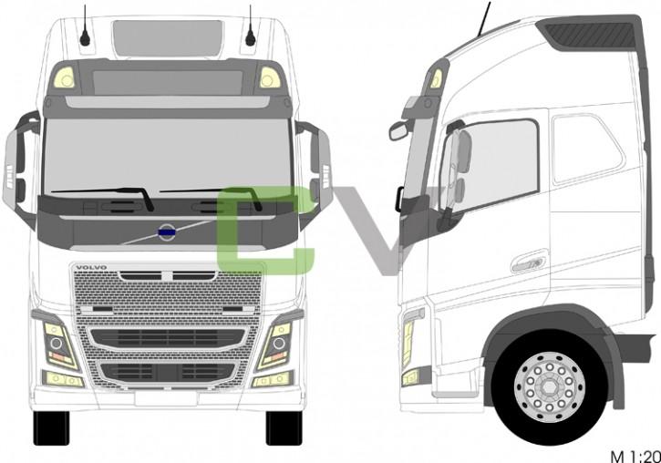 Volvo FH Globetrotter XL (CABXHLS) (2013)