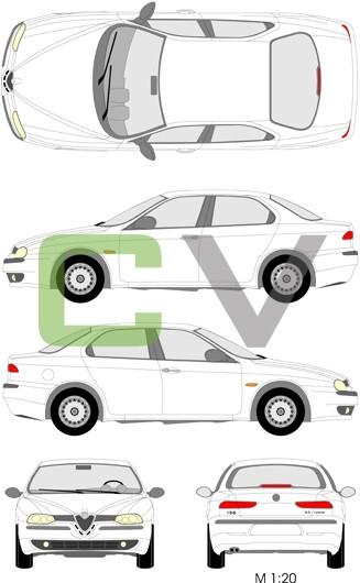 Alfa Romeo 156 Sportwagon Typ 2