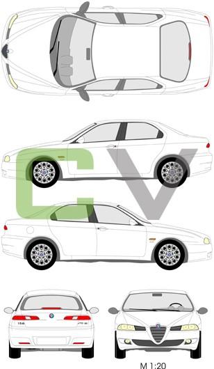 Alfa Romeo 156 Typ 2