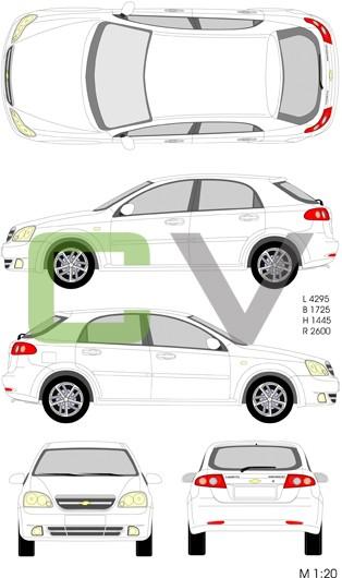 Chevrolet Lacetti (5 Türer)