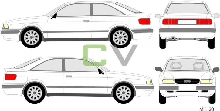 Audi 80 (1991) Coupe