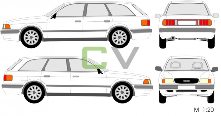 Audi 80 (1991) Avant