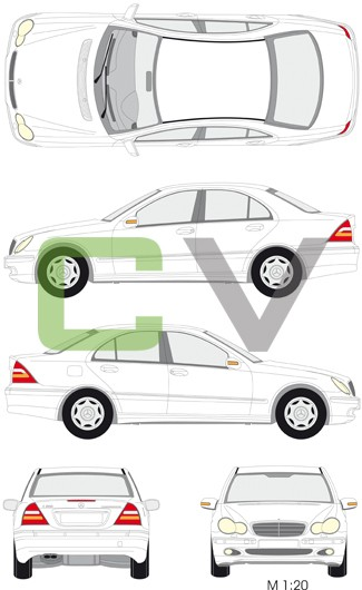 Mercedes C (2000) (4 Türer)