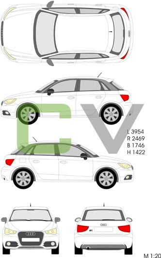 Audi A1 (2012) Sportback