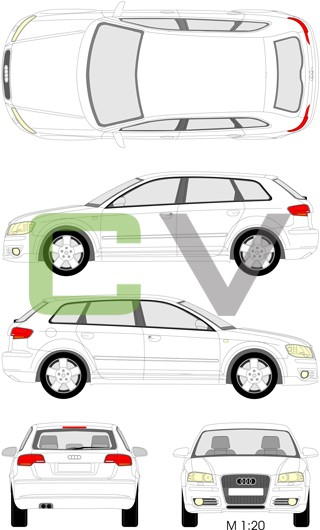 Audi A3 (2004) Sportback