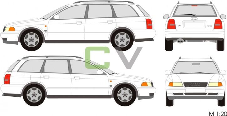 Audi A4 (1996) Avant