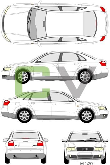 Audi A4 (2001) (4 Türer)