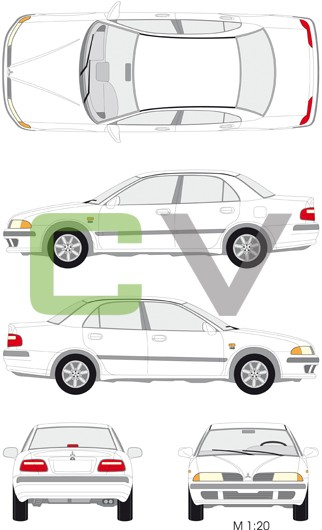 Mitsubishi Carisma (4 Türer)