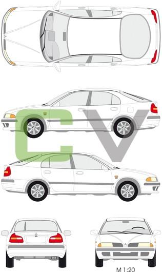 Mitsubishi Carisma (5 Türer)