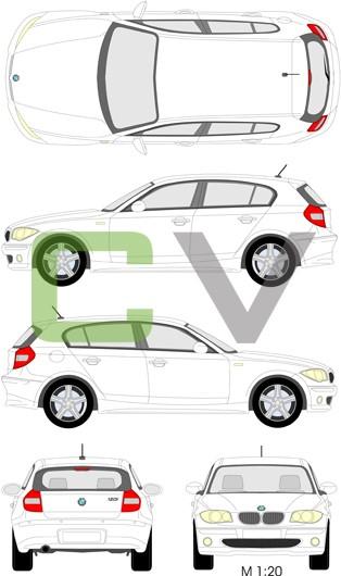 BMW 1er Serie (2004) (5 Türer)