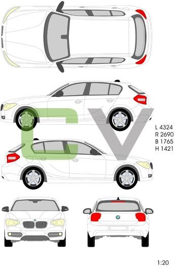 BMW 1er Serie  (2011) (5 Türer)
