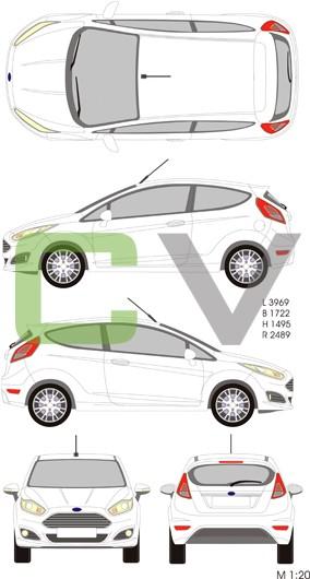 Ford Fiesta (2013) (3 Türer)