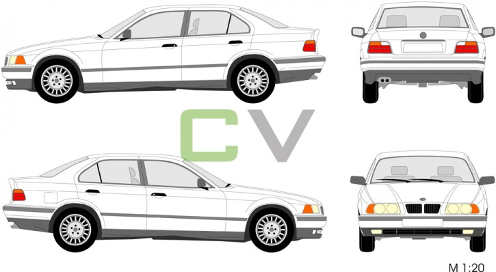 BMW 3er Serie  (1990) (4 Türer) 3