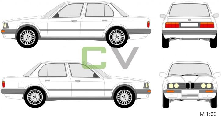 BMW 3er Serie (1990) (4 Türer) 3.90
