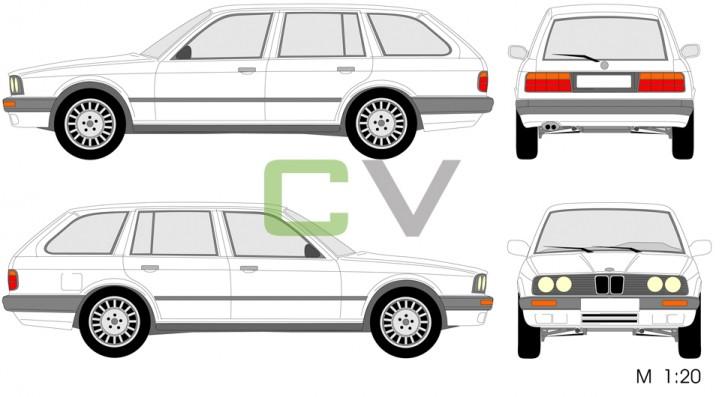 BMW 3er Serie Touring (1991)