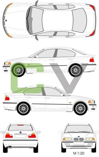 BMW 3er Serie (1998) (4 Türer)