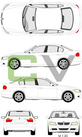 BMW 3er Serie (2005) (4 Türer)