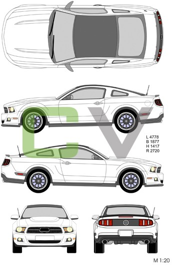 Ford Mustang (2012)
