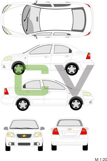 Chevrolet Aveo Typ 2