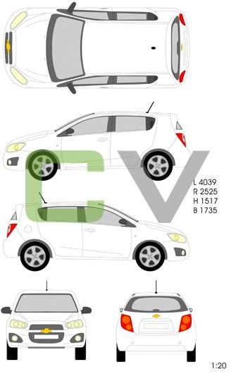 Chevrolet Aveo Typ 3