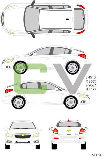 Chevrolet Cruze (5 Türer)