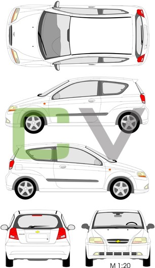 Chevrolet Kalos (3 Türer)