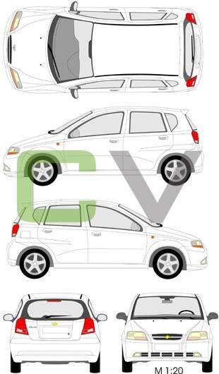Chevrolet Kalos (5 Türer)