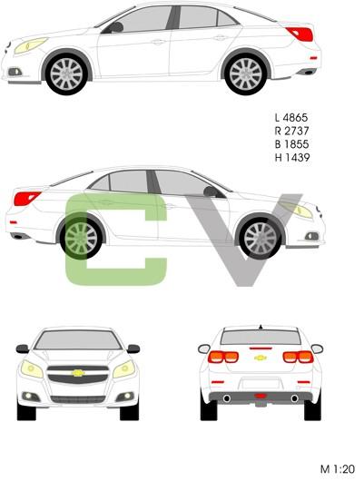 Chevrolet Malibu (2012)