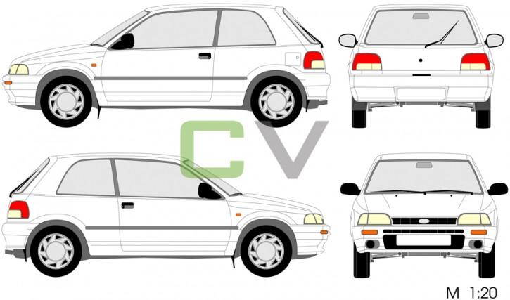 Daihatsu Charade 1 (3 Türer)
