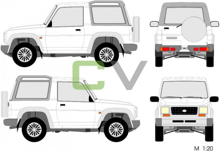 Daihatsu Rocky Wagon I