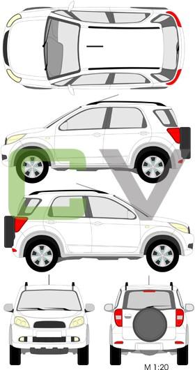 Daihatsu Terios Typ 2