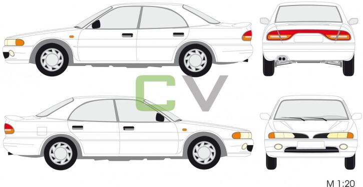 Mitsubishi Galant 1.8 4