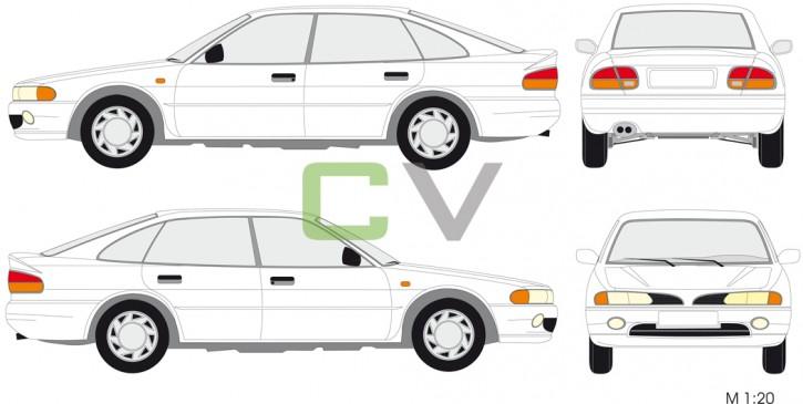 Mitsubishi Galant 1.8 5