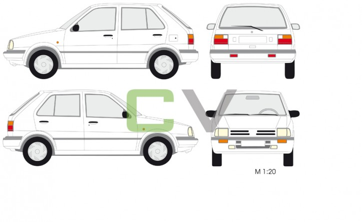Nissan Micra Typ 1 (5 Türer)