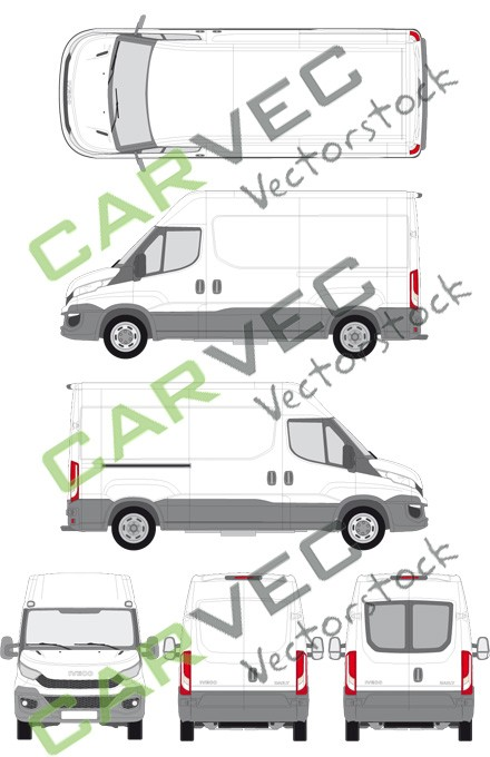 Iveco Daily L2H2 (Radstand 3520) Kasten (2014)