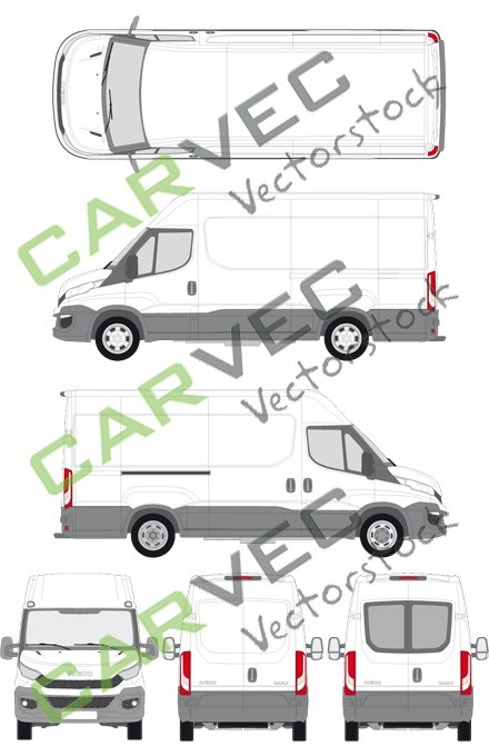 Iveco Daily L3H2 (Radstand 3520L) Kasten (2014)