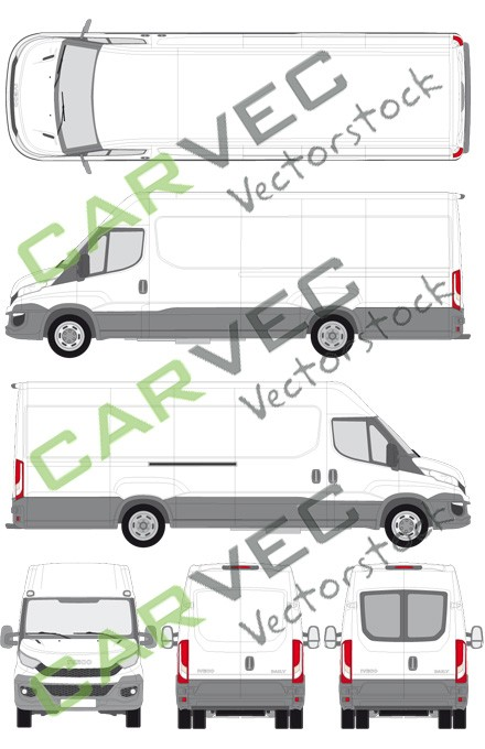 Iveco Daily L4H2 (Radstand 4100) Kasten (2014)