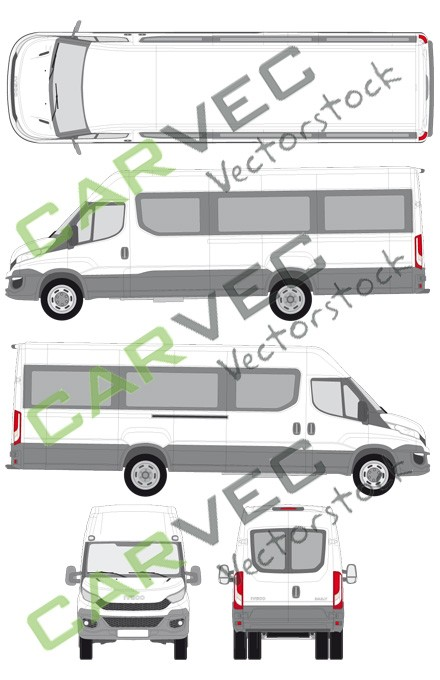 Iveco Daily L5H2 (Radstand 4100) verglast (2014)
