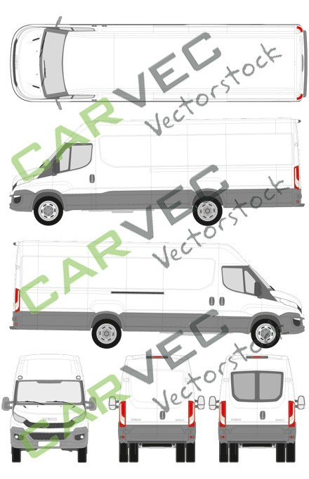 Iveco Daily L5H2 (Radstand 4100) Kasten (2014)